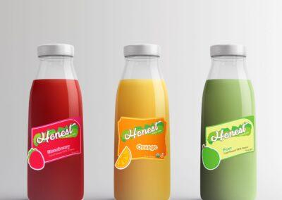 Honest Juice Labels