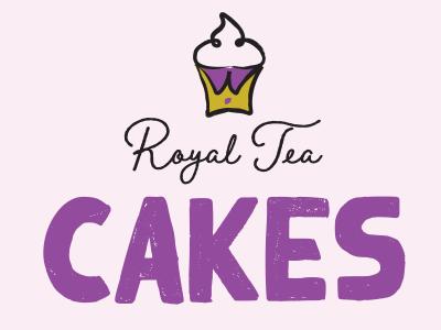 Royal Tea Cakes Package Design